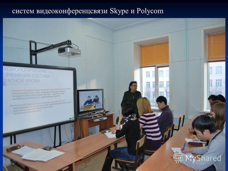 систем видеоконференцсвязи Skype и Polycom