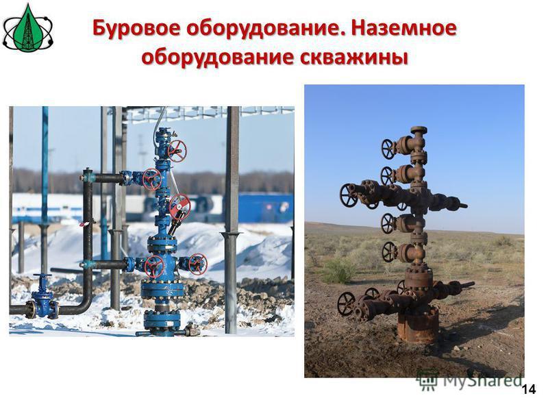 Буровое оборудование. Наземное оборудование скважины 14