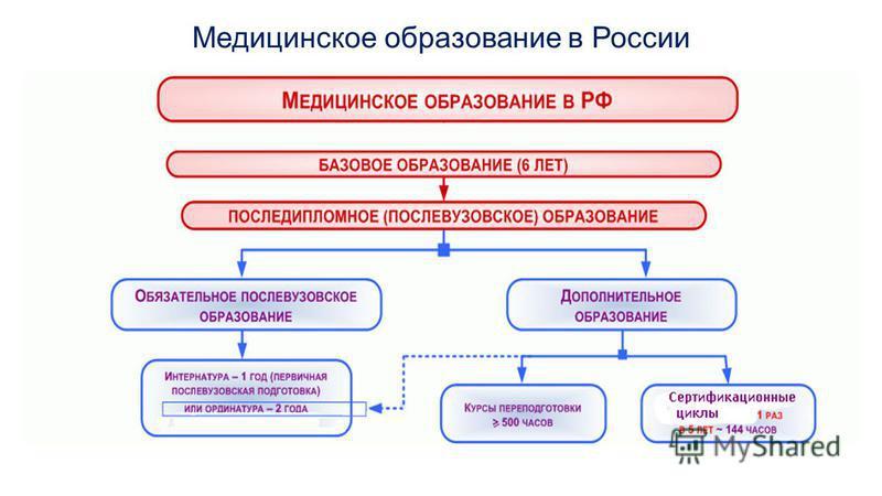Медицинское образование в России