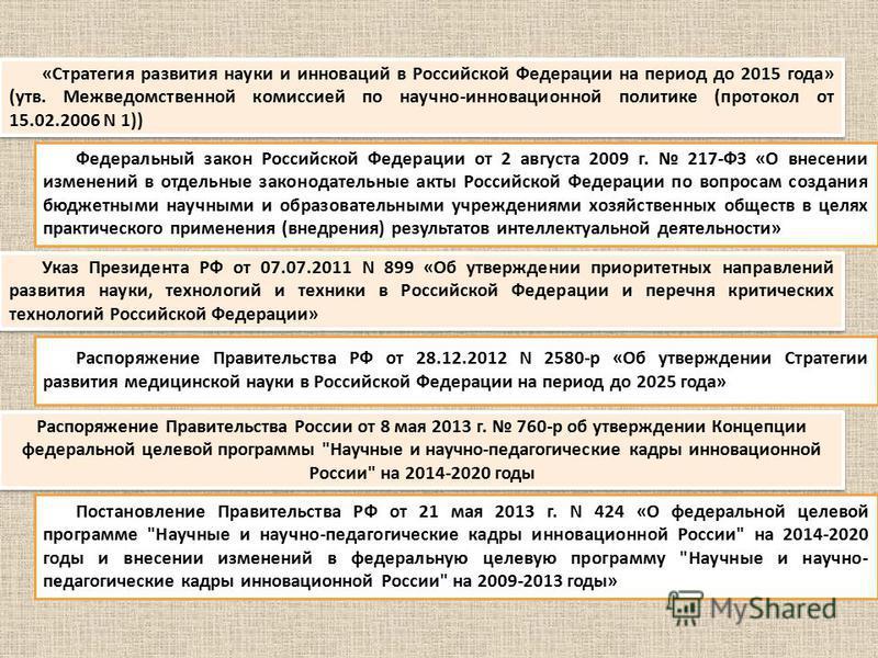 Распоряжение Правительства России от 8 мая 2013 г. 760-р об утверждении Концепции федеральной целевой программы