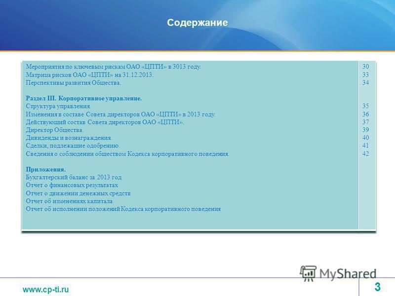 www.tvel.ru Содержание www.cp-ti.ru 3
