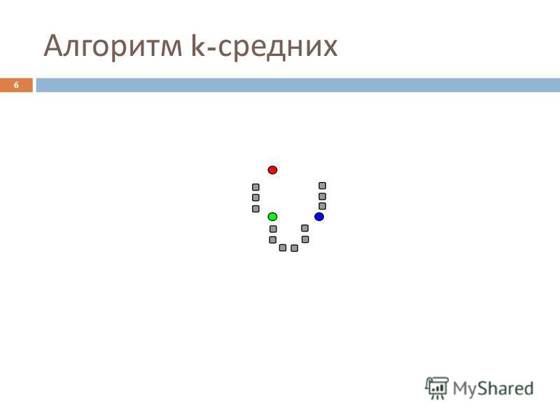 Алгоритм k- средних 6