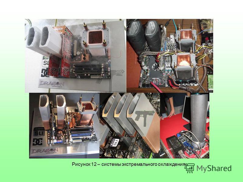 Рисунок 12 – системы экстремального охлаждения