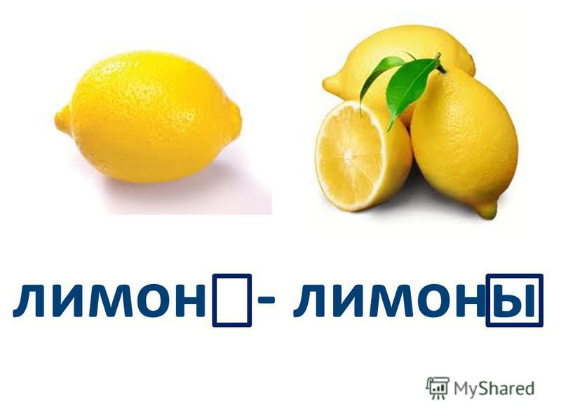 лимон - лимоны