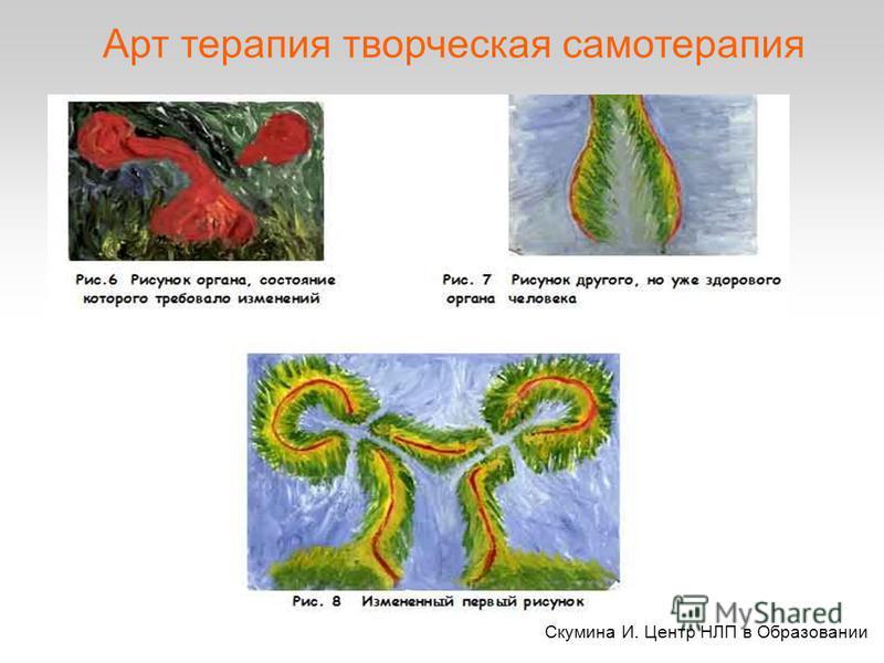 Скумина И. Центр НЛП в Образовании Арт терапия творческая псаммотерапия