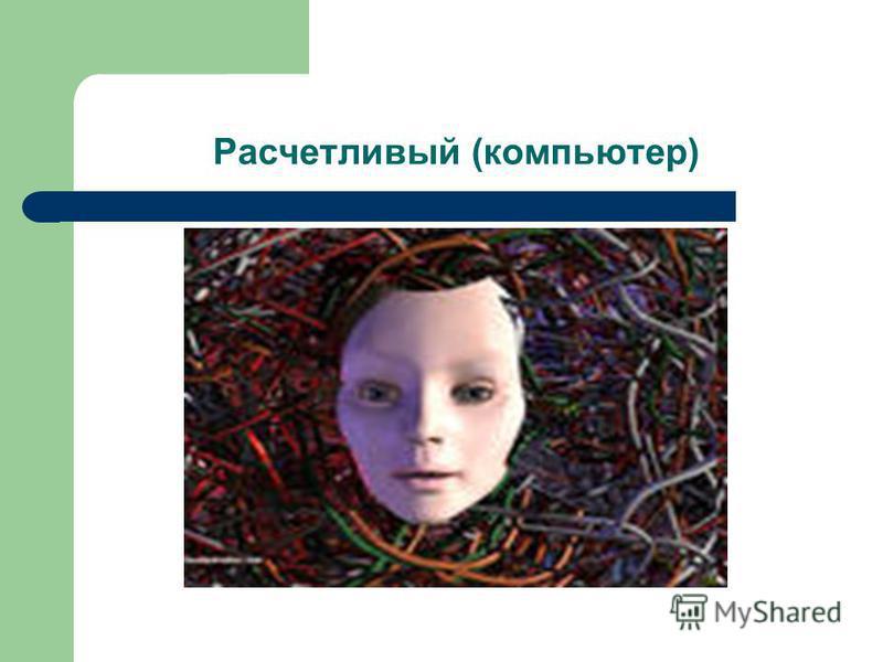 Расчетливый (компьютер)