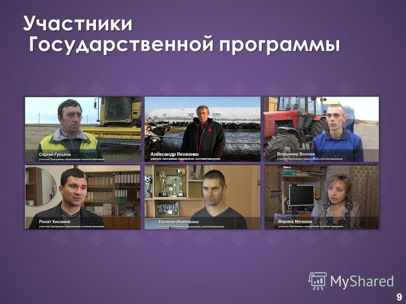9 Участники Государственной программы Александр Яковенко участник Программы переселение соотечественников