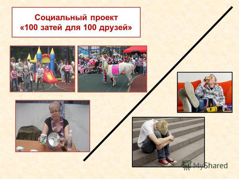Социальный проект «100 затей для 100 друзей»