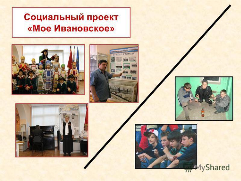 Социальный проект «Мое Ивановское»