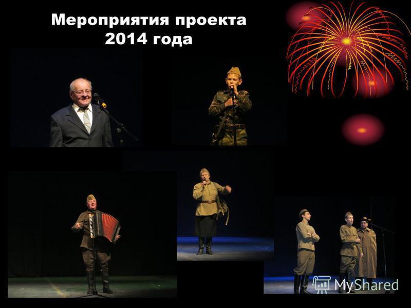 Мероприятия проекта 2014 года