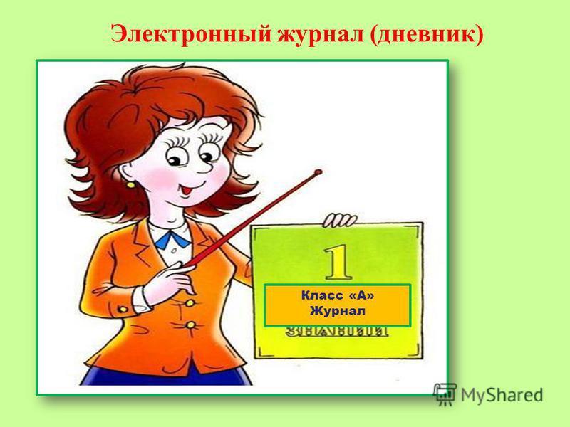 Электронный журнал (дневник) Класс «А» Журнал