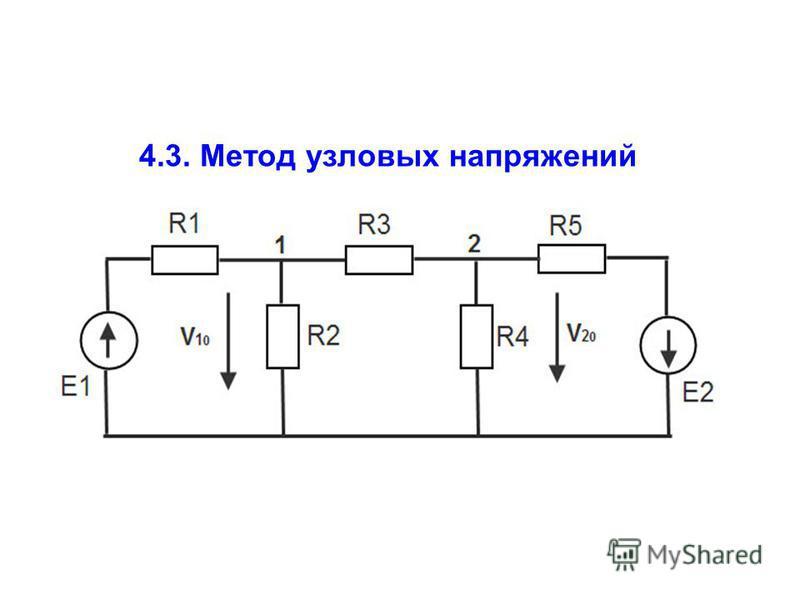 4.3. Метод узловых напряжений