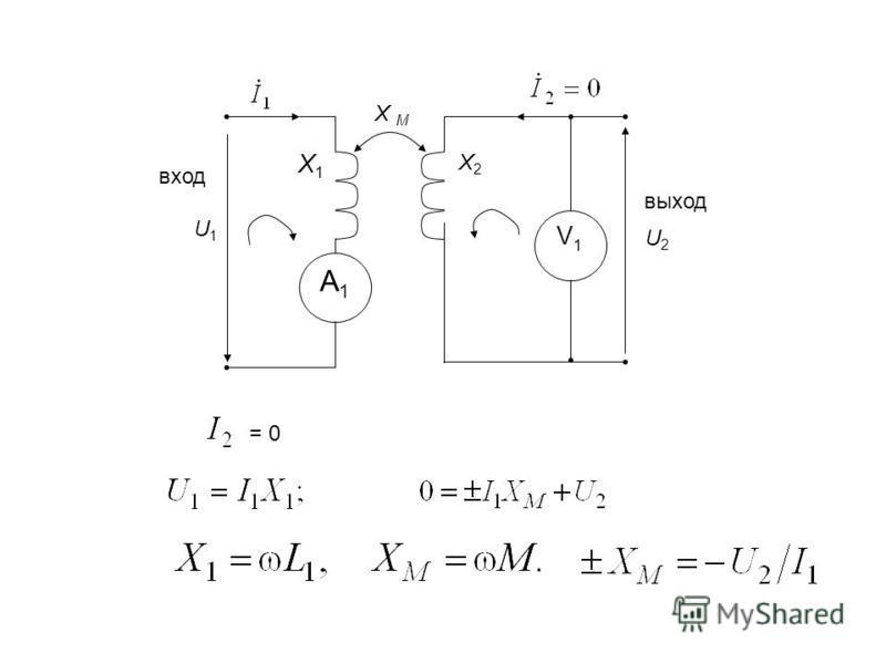 А1А1 V1V1 U1 U1 Х М Х1Х1 Х2Х2 U2U2 вход выход = 0