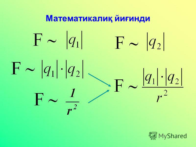 Математикалиқ йиғинди
