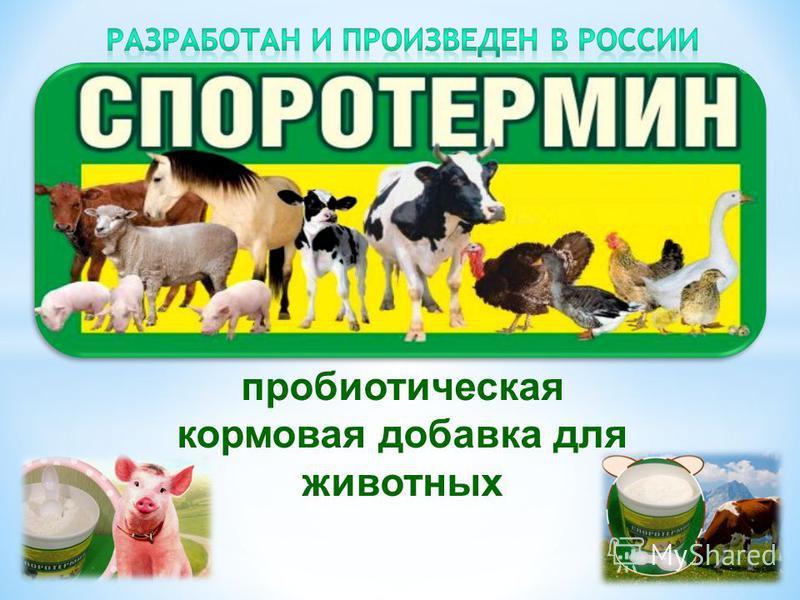 пробиотическая кормовая добавка для животных