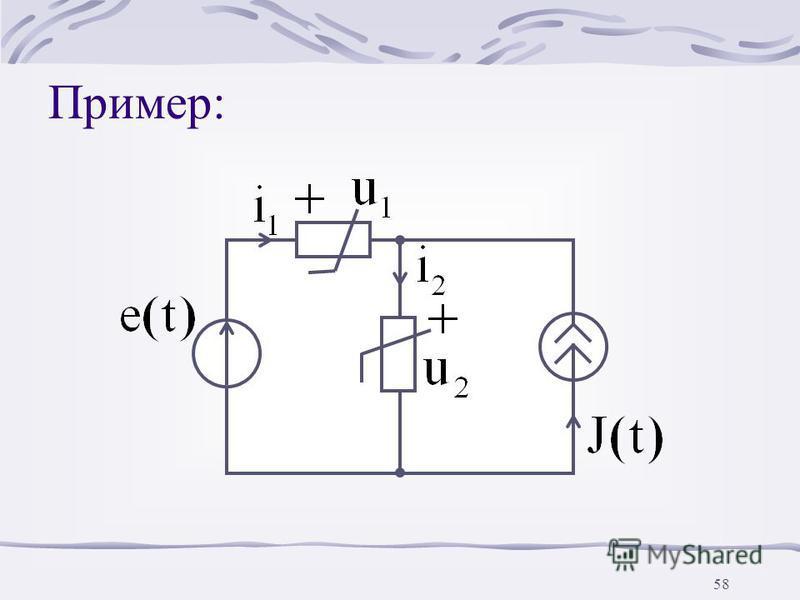 57 6. Применение MATHCAD на ЭВМ для расчета переменных напряжений и токов