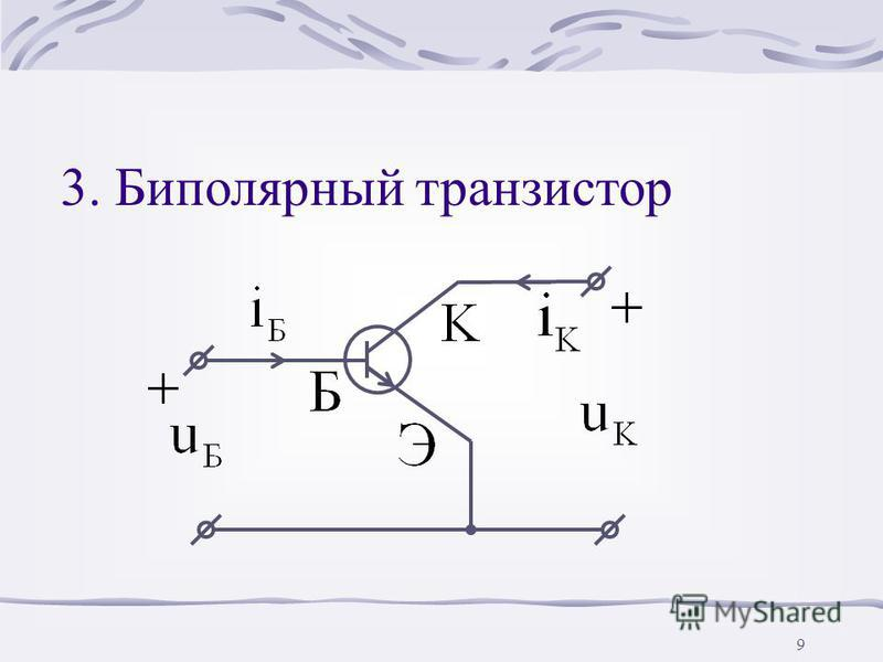 8 Несимметричная ВАХ
