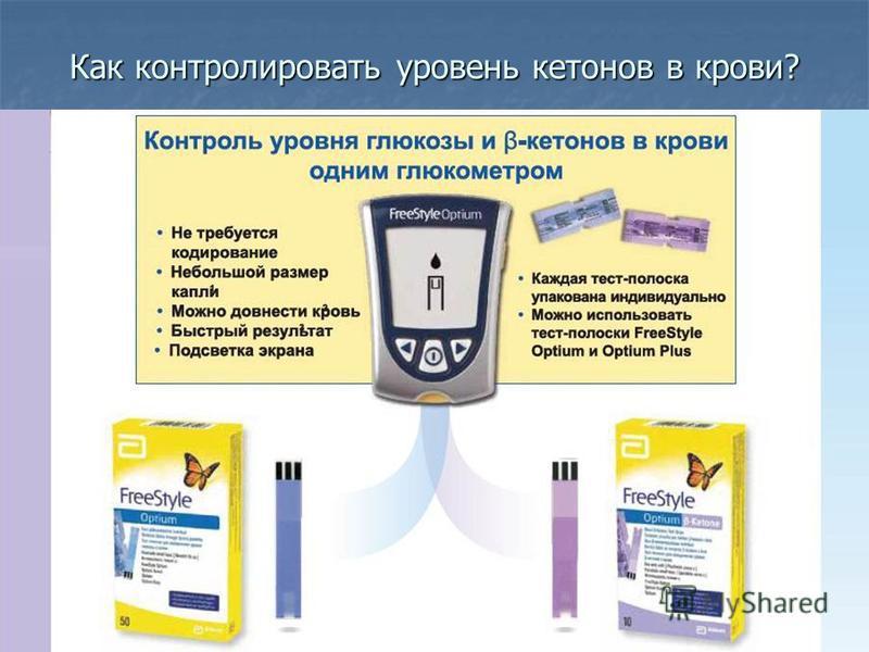 Как контролировать уровень кетонов в крови? 55