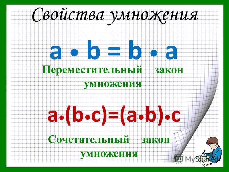Цель: перенести знания умножения чисел на 10, 100, 1000 на умножение чисел на разрядные единицы закреплять знания и умения в области нумерации многозначных чисел; повторить и обобщить правила умножения, распространив их на более широкую область; отра