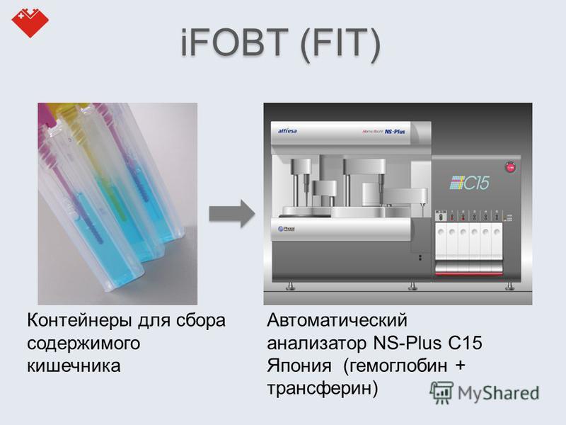 Автоматический анализатор NS-Plus C15 Япония (гемоглобин + трансферрин) Контейнеры для сбора содержимого кишечника iFOBT (FIT)