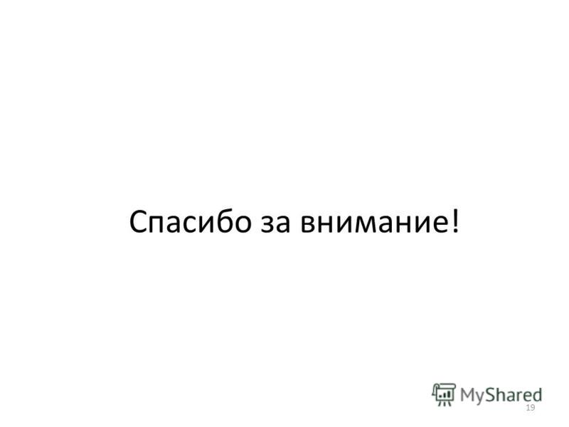 НИУ ВШЭ, Москва, 2013 photo 19 Спасибо за внимание!