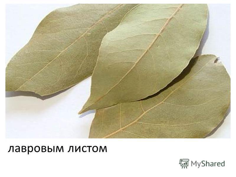 лавровым листом