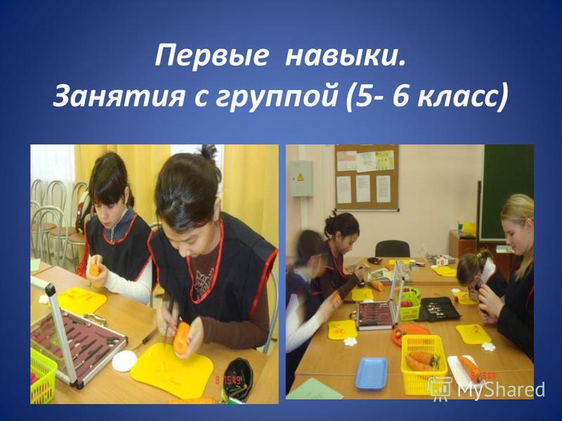 Первые навыки. Занятия с группой (5- 6 класс)