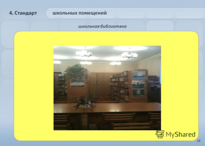 школьная библиотека 18