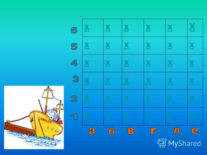 Внеклассное мероприятие по информатике – игра «Морской бой»