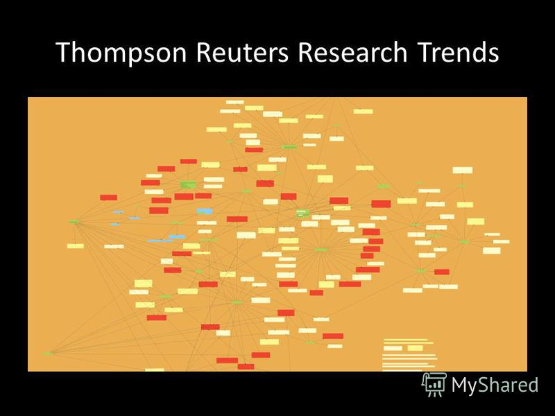 Thompson Reuters Research Trends