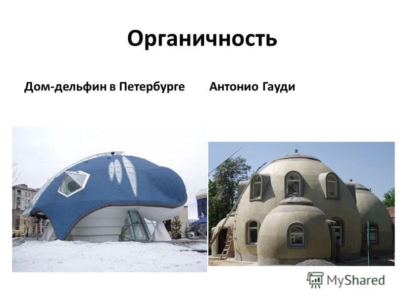 Органичность Дом-дельфин в Петербурге Антонио Гауди