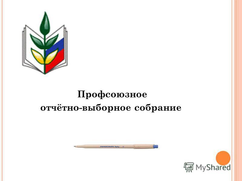 Профсоюзное отчётно-выборное собрание