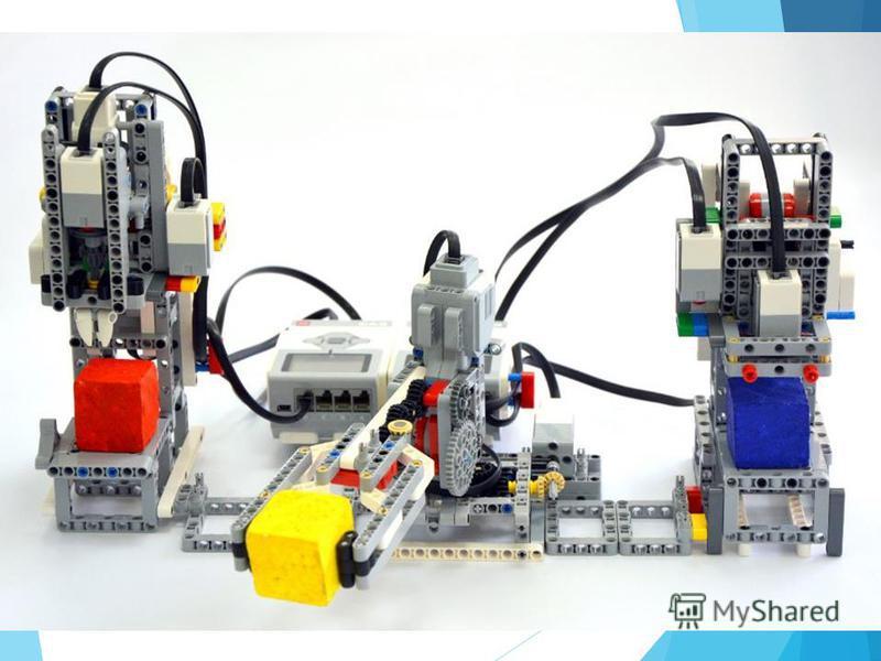 Пример модели завода на базе конструктора LEGO