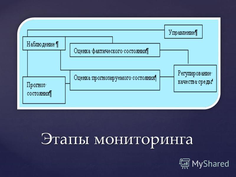 Этапы мониторинга