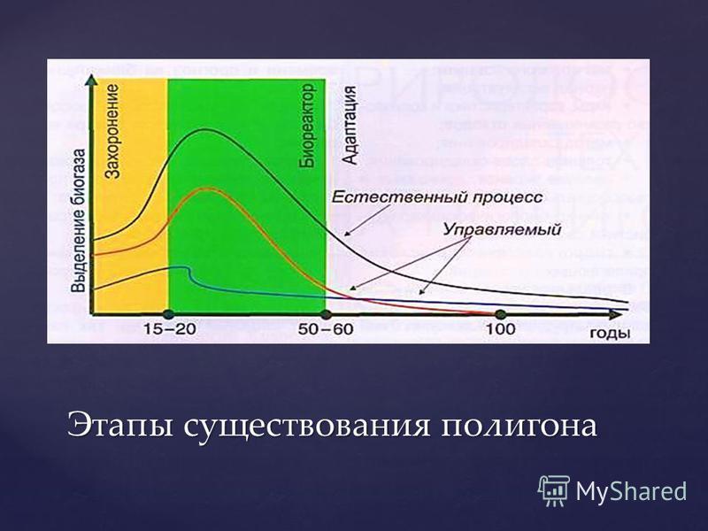 Этапы существования полигона