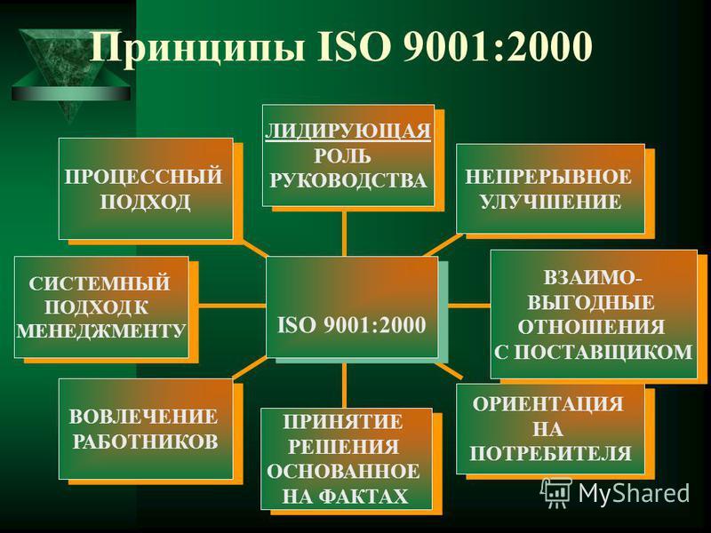 Принципы ISO 9001:2000 ПРОЦЕССНЫЙ ПОДХОД ПРОЦЕССНЫЙ ПОДХОД СИСТЕМНЫЙ ПОДХОД К МЕНЕДЖМЕНТУ СИСТЕМНЫЙ ПОДХОД К МЕНЕДЖМЕНТУ ВОВЛЕЧЕНИЕ РАБОТНИКОВ ВОВЛЕЧЕНИЕ РАБОТНИКОВ ПРИНЯТИЕ РЕШЕНИЯ ОСНОВАННОЕ НА ФАКТАХ ПРИНЯТИЕ РЕШЕНИЯ ОСНОВАННОЕ НА ФАКТАХ ОРИЕНТАЦИ