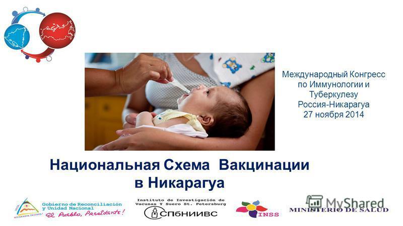Национальная Схема Вакцинации в Никарагуа Международный Конгресс по Иммунологии и Туберкулезу Россия-Никарагуа 27 ноября 2014