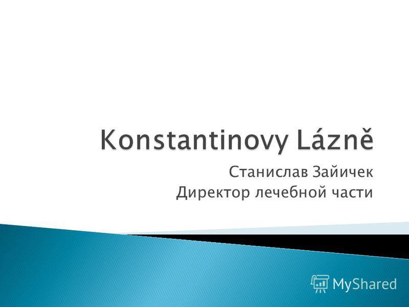 Станислав Зайичек Директор лечебной части