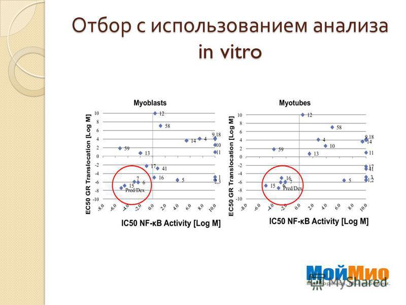 Отбор с использованием анализа in vitro