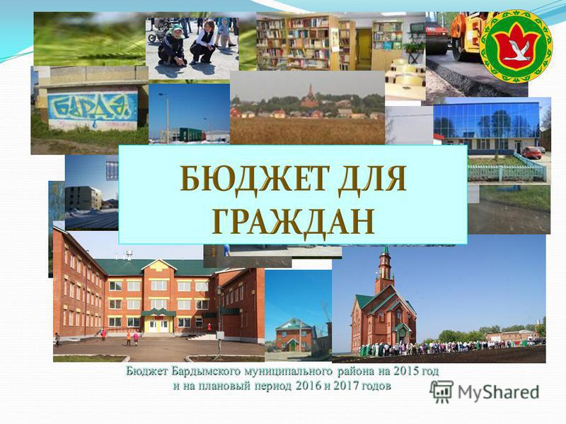 Бюджет Бардымского муниципального района на 2015 год и на плановый период 2016 и 2017 годов