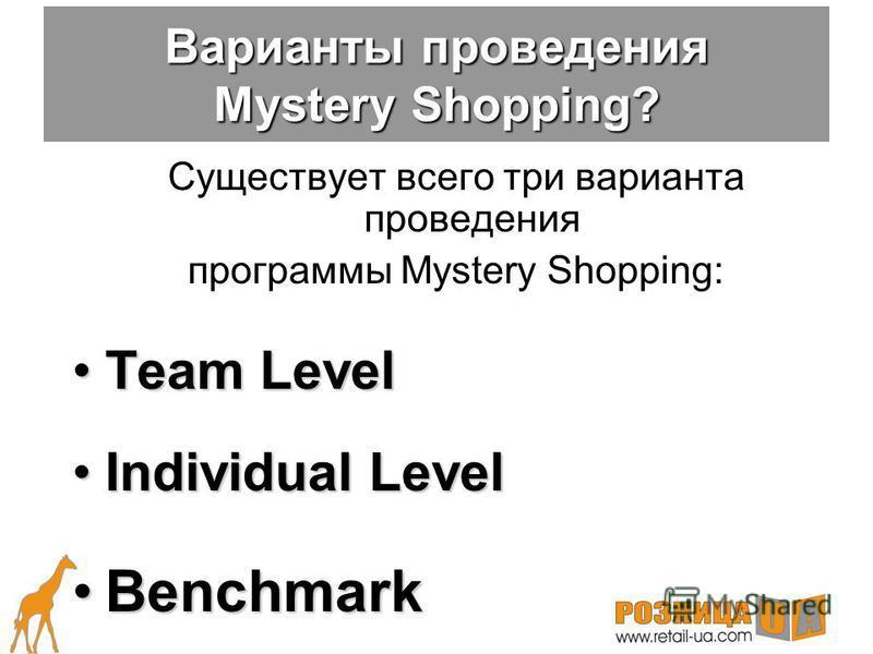 «Таинственный покупатель» дает возможность отследить методы взаимодействия с клиентом каждого сотрудника сети, а также выстроить рейтинги розничных точке и филиалов (регионов) по уровню обслуживания «Контрольные листы наблюдения» –объявленный КЛН –не