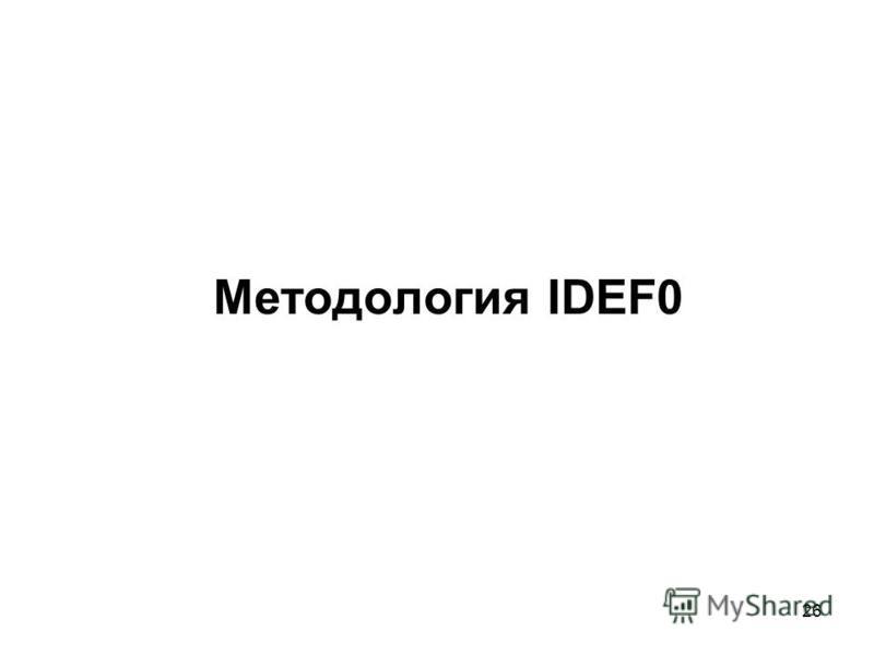 26 Методология IDEF0