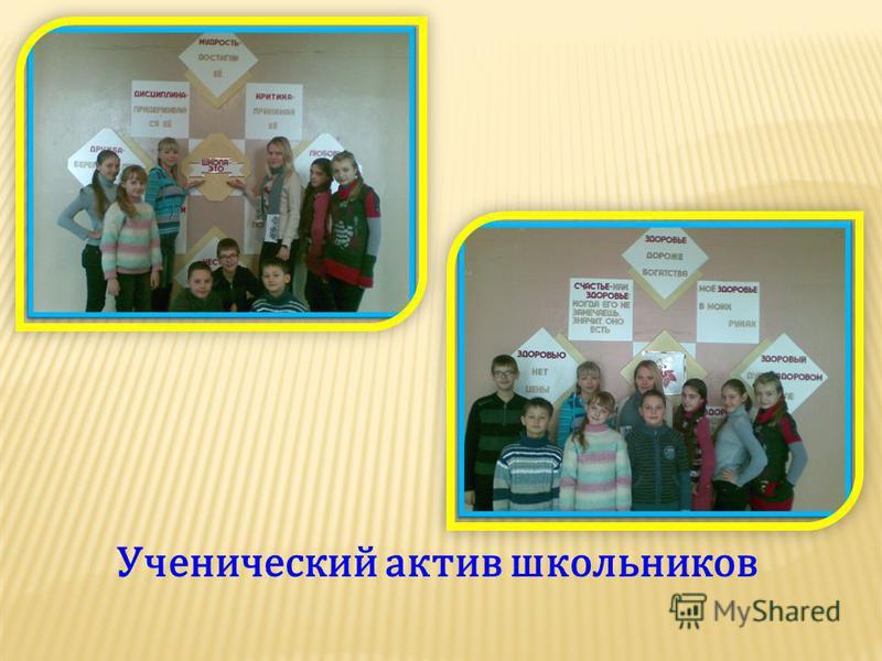 Ученический актив школьников