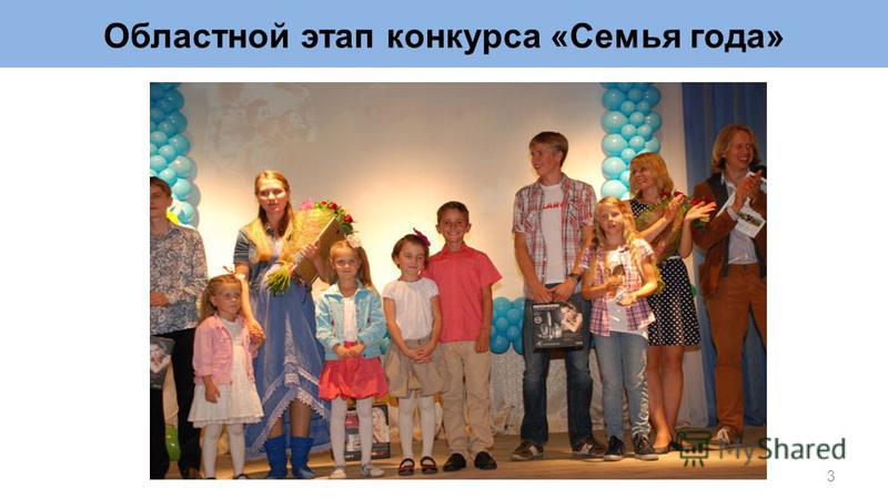 Областной этап конкурса «Семья года» 3
