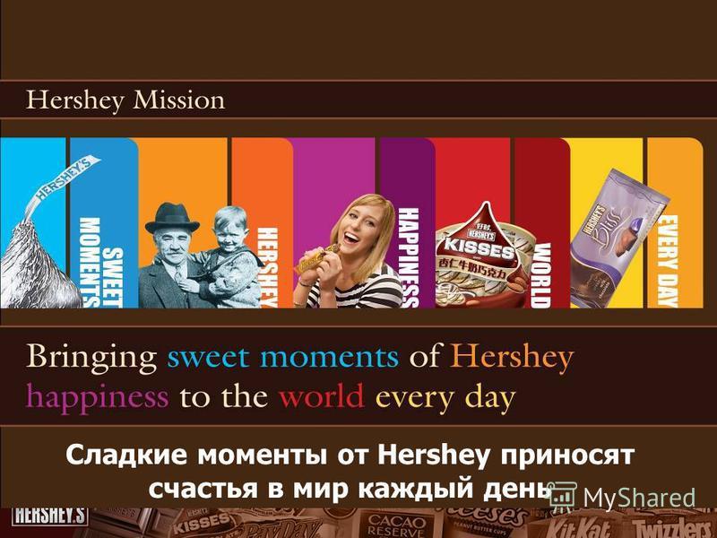 Сладкие моменты от Hershey приносят счастья в мир каждый день