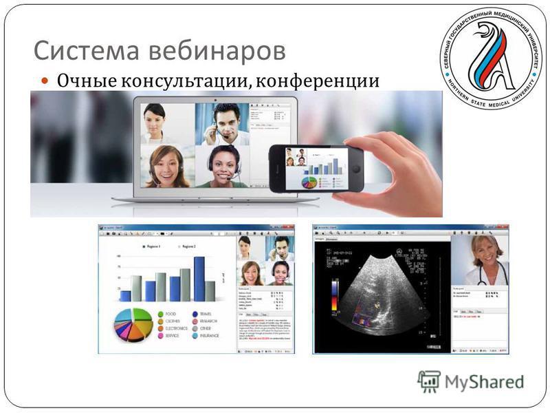 Система вебинаров Очные консультации, конференции