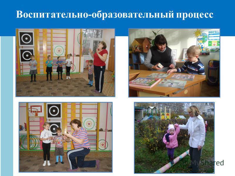 Воспитательно-образовательный процесс