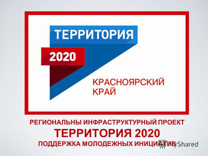 РЕГИОНАЛЬНЫ ИНФРАСТРУКТУРНЫЙ ПРОЕКТ ТЕРРИТОРИЯ 2020 ПОДДЕРЖКА МОЛОДЕЖНЫХ ИНИЦИАТИВ