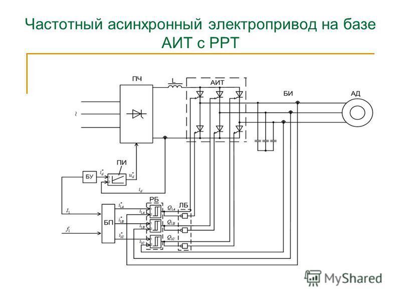 Частотный асинхронный электропривод на базе АИТ с РРТ