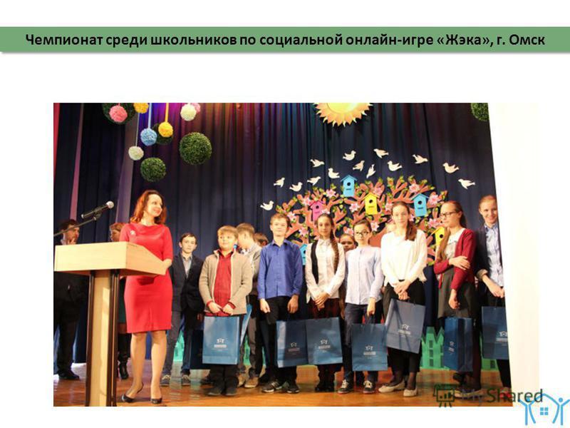 Чемпионат среди школьников по социальной онлайн-игре «Жэка», г. Омск